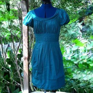 BCBGMAXAZIA | Womens Green A Line Dress